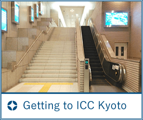 Getting to ICC Kyoto