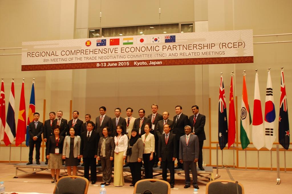 第8回東アジア地域包括的経済連携(RCEP)交渉会合 | 国立京都国際会館
