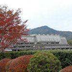 紅葉と国際会館