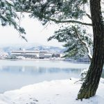 From the lake Takaragaike