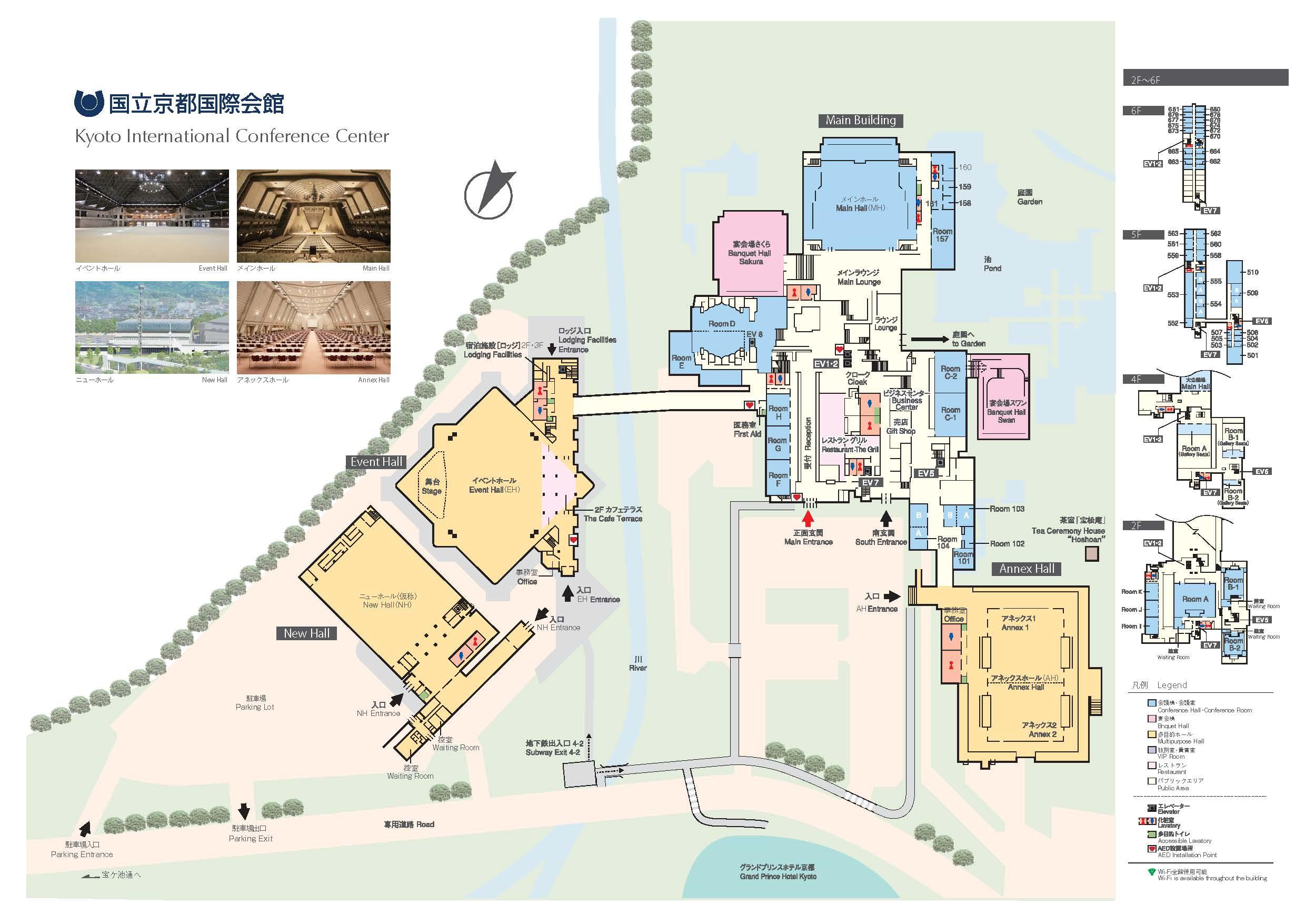 Jp Plan floor plan kyoto international conference center